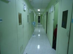 講義室廊下
